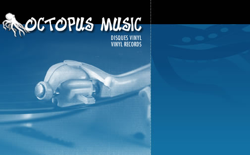 Octopus Music - Vinyls discs